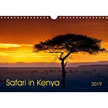 Safari in Kenya (Wall Calendar 2019 DIN A4 Landscape): Landscapes and wildlife of southern Kenya (Monthly calendar, 14 pages ) (Calvendo Animals)