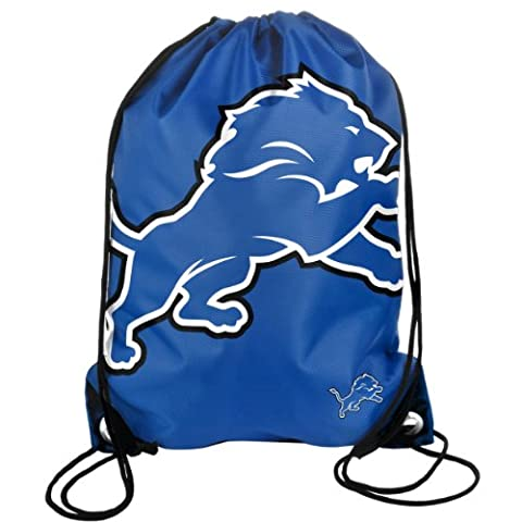 Forever Collectibles NFL Team Sports Bag, 49 cm, Unisex, DETROIT LIONS, 49 cm