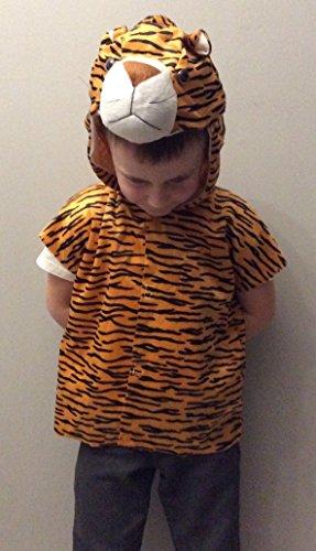 Henbrandt enfant Tigre Tunique et Coiffe Taille S 4-6ans