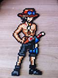 Pixel Art - Hama Beads - OP Ace