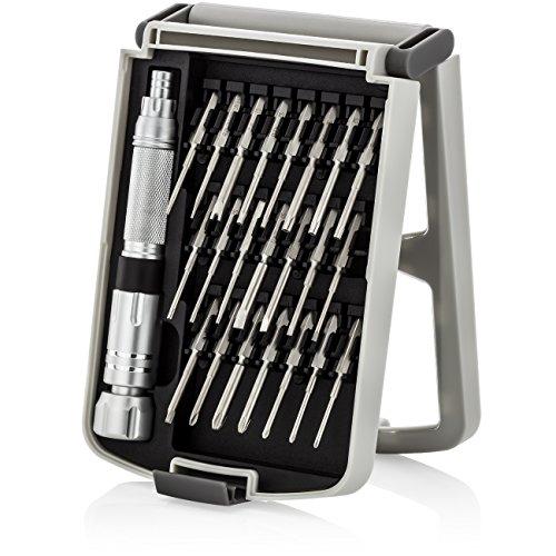 eher Set 23-teilig Magnetische Schraubendreher Bits Werkzeugset für Handy Smartphone Tablet Laptop Uhren Brillen Präzisions Werkzeug (Mac-schraubendreher-set)