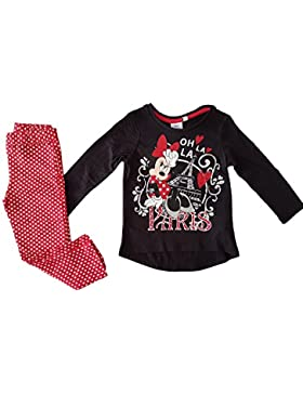 Disney - Pijama Minnie Mouse - 8 ANS, Noir