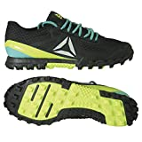 Reebok All Terrain Super 3.0 Obstacle Run Shoe Black/Lime Size : 42.5