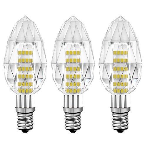 KINDEEP Lampadina LED E14 a Candela, 5W