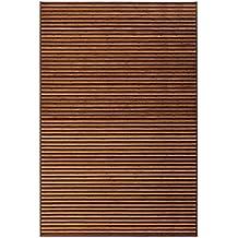 Alfombra de salón árabe marrón de bambú para comedor de 200 x 300 cm Arabia - Lola Home
