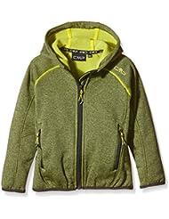 CMP - F, LLI Campagnolo chaqueta de forro polar, todo el año, niño, color Amarillo - Lemon-Grey, tamaño 4 años (104 cm)
