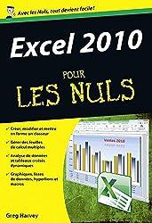 Excel 2010 Poche Pour les Nuls