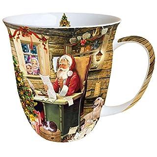 Ambiente Mug Tea / Coffee Christmas Santa's Mail ca. 0.4L