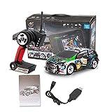 Ploufer Für WLtoys K989 Hochgeschwindigkeitsauto Elektrischer Allradantrieb Geländewagen 2.4G Legierung Chassis Fernbedienung Auto Spielzeug