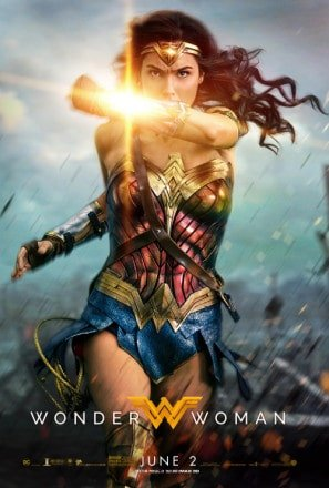 WONDER WOMAN - US Movie Wall Poster Print - 30CM X 43CM Brand New -