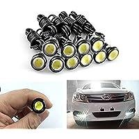 10-pack 5730 9W 18mm Eagle Eye DRL dell'automobile dell'automobile LED di sostegno Le nuove lampadine bianche delle lampadine 12V