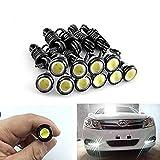 10-pack 5730 9W 18mm Eagle Eye LED Auto Motor DRL Backup neue weiße Lichter Glühbirnen 12V