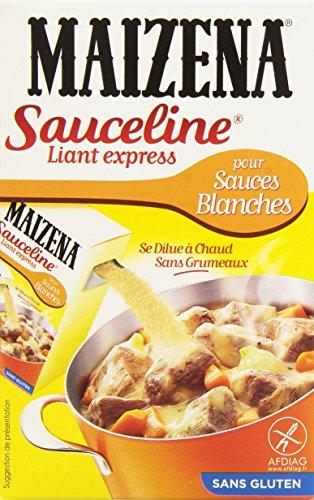 Maïzena Farine pour Lier sans Gluten Sauceline Sauces Blanches 250 g - Lot de 4