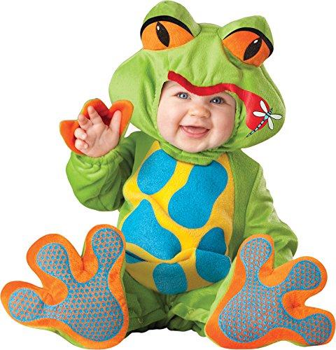Kleiner Frosch Babykostüm - 12-18 ()