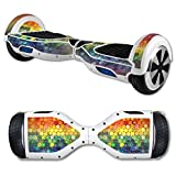 MightySkins Protective Vinyl Skin Decal for Hover Board Self Balancing Scooter mini 2 wheel x1 razor wrap cover sticker Color Me