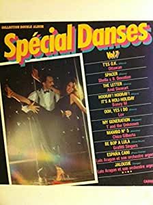 SPECIAL DANSE VOL 7-COLLECTION DOUBLE ALBUM-Sacem 1980