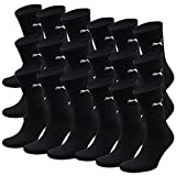 PUMA Unisex Crew Socks Socken Sportsocken MIT FROTTEESOHLE 18er Pack = 18 Paar