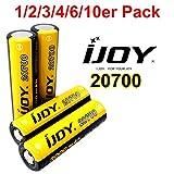 iJoy 20700 Akku mit 3000mAh 3.7V. Ideal für e-Shishas, e-Zigaretten, RC-Modellbau und Powertool.
