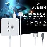 Aursen-60W-Magsafe-2-Netzanschluss-Adapter-60W-Magsafe-2-Netzteil-Ladegert-T-Form-Kompatibel-mit-Modell-A1435A1465A1502MD212MD213MD662