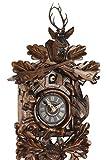 Original Schwarzwälder Kuckucksuhr aus Echtholz, mechanisches 1-Tag Laufwerk und VDS Zertifikat - Angebot von Uhren-Park Eble - Eble -Jagdstück 36cm- 28-21-12-10