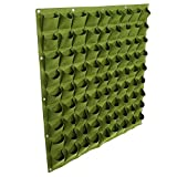 Taschen Pflanztaschen Wandbehang Gartenarbeit Pflanzer Outdoor Indoor Vertikale Greening Grow Taschen Flower Growing Container ( Farbe : Grün )