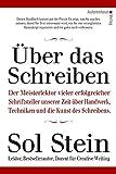 Über das Schreiben von Sol Stein