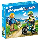 PLAYMOBIL- Ciclista y Excursionista (9129)
