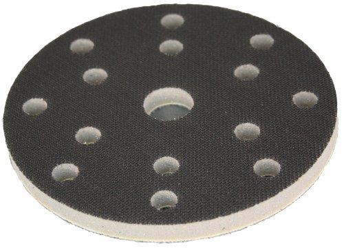 Suave colchón de diámetro 150 mm 15-agujero - 8 + 6 + 1-agujero interface-pad para plato de lija plato de pulido soporte giratorio para velcro-sistemas - DFS
