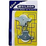 HR-03N BLISTER 2 - Polea plastico tuerca 40 Silbor blister 2 pzs.