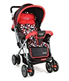 LuvLap Baby Stroller Pram Sunshine Red/Black
