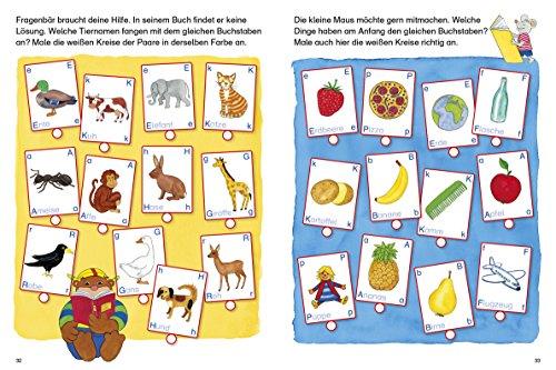 Fragenbär Vorschule: Buchstabenspiele und erstes Schreiben (Lerne mehr mit Fragenbär) - 6