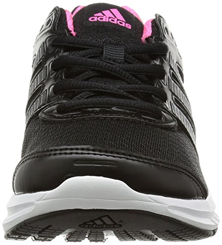 adidas Performance Duramo 6, Chaussures de running mixte adulte Noir (Black 1/Black 1/Neon Pink)