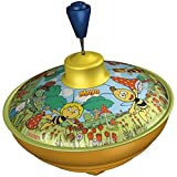 SIMM Spielwaren Bolz 52550 Maya the Bee – Humming Spinning Top 13 cm