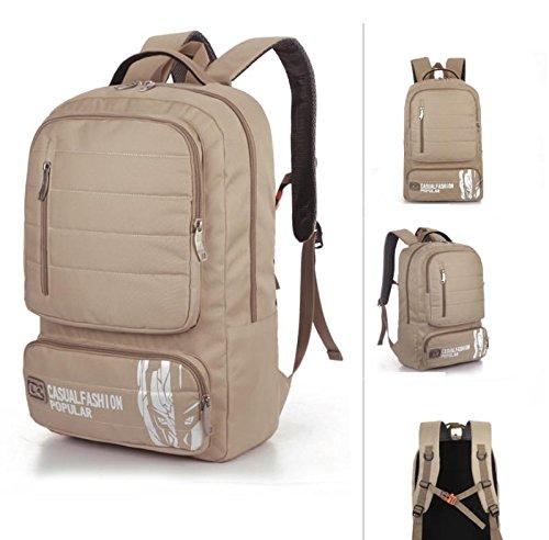 Computer studente di all'aperto alpinismo zaino moda borse di massa , army green meters white