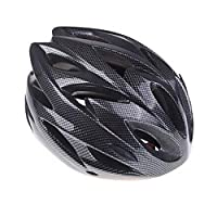 [H11138][Black]Ultralight Integrally-molded Sports Cycling Helmet with Visor Mountain Bike