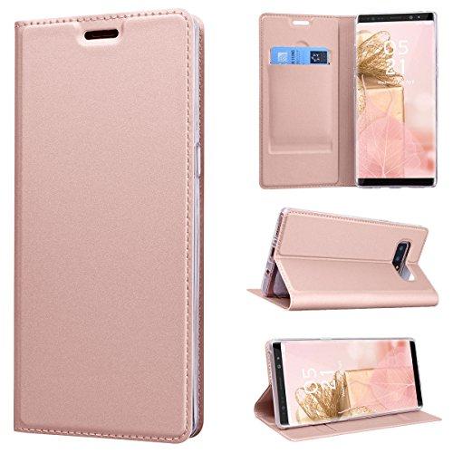 CE-Link-Samsung-Galaxy-Note-8-Hlle-Lederhlle-Ledertasche-Schutzhlle-Premium-PU-Leder-Flip-Wallet-Case-Innere-Weiche-Silikon-Handy-Tasche-Schale-Etui-mit-Kartenfach-Standfunktion-Protective-Cover-Schut