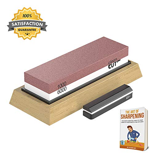 Clean Cut Knife Sharpening Stone | Kitchen Gadgets for Knives - Premiu