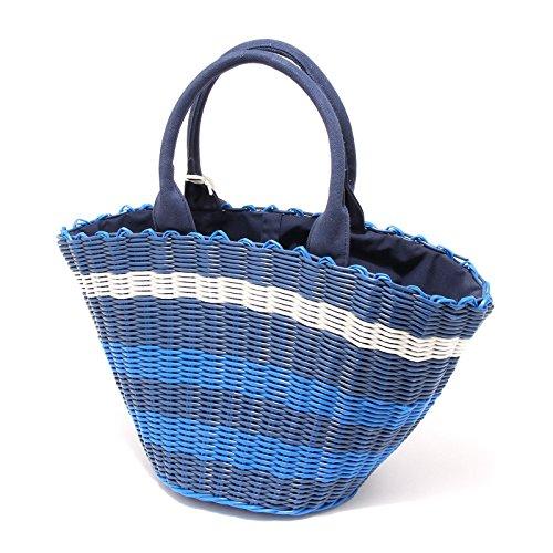 4704G borsa donna blu DUCK FARM borsetta bag women Blu