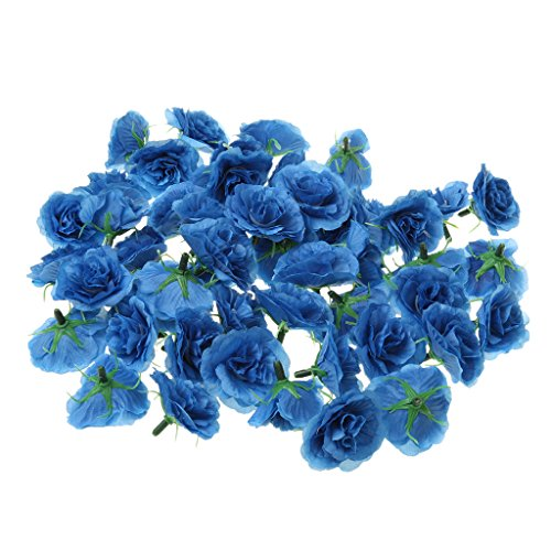 Gazechimp Künstliche Nelke Blume Kunstblumen Blumenkopf Set of 50Stück