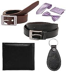 Abloom Stylish Belt & wallet combo