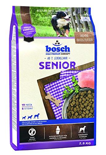Bosch Hundefutter Senior, 4er Pack (4 x 2.5 kg)