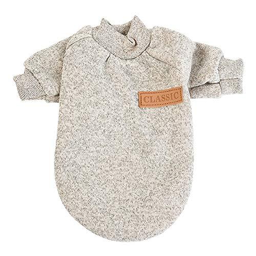 Ternly Hunde-Pullover mit Kapuze, Shirts, Kleidung, Weste, Wintermantel, Warmer Pullover, Kleidung für Welpen, Hunde, weich, mit Kapuze, Strick, weich, S, M, L, XL, XL