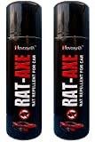 #7: Novosynth Rat Axe: Rat Repellent Spray For Car, Organic, Non-Poisonous, 200 mL, Pack of 2