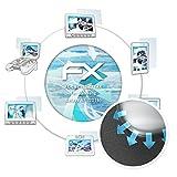 atFolix Schutzfolie für Samsung Galaxy A7 (2016) Folie - 3 x FX-Curved-Clear Flexible Displayschutzfolie für gewölbte Displays