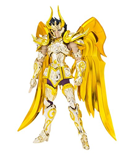 Bandai Tamashii Nations BTN03794-1 - Saint Seiya Soul of Gold SCME Capricorn Shura - God Cloth Actionfigur, 18 cm (Bandai Tamashii Robot Nations)