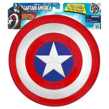Power Captain Kostüme (Captain America Fliegender Schutzschild [UK)