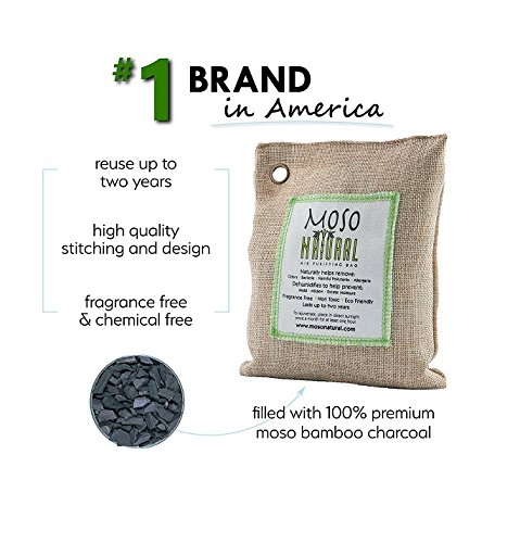moso natural air purifying bag natural color 200g. Moso Natural Air Purifying Bag Natural Color 200G. 51rn55T4mIL