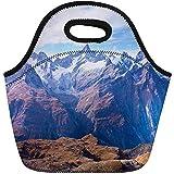 Lunch Taschen,Gebirgsalpen In Zermatt Die Schweiz Gestalten Nebel-Alpines Europa-Wiederverwendbare...