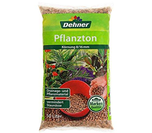 Dehner Pflanzton, 10 l, Körnung 8/16 mm (Pflanzen Ton-topf Für)