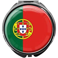 Pillendose/rund/Modell Leony/FLAGGE PORTUGAL preisvergleich bei billige-tabletten.eu